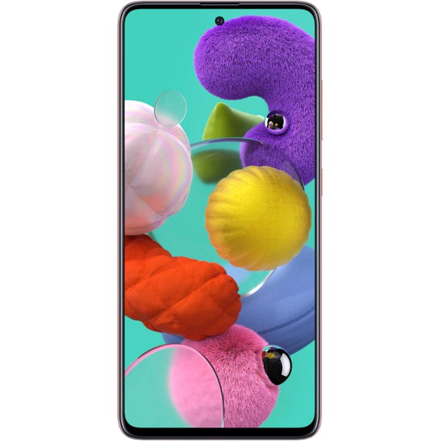 Smartphone Galaxy A51 A515FD 128GB 6GB RAM Dual Sim 4G Pink