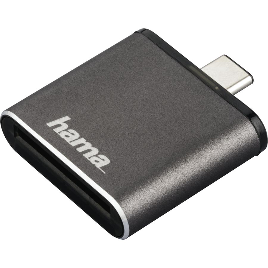 Cititor de carduri OTG USB 3.1 Tip C UHS II SD Gri