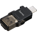 OTG USB 3.1 Tip C + USB 3.0 Tip A microSD Negru