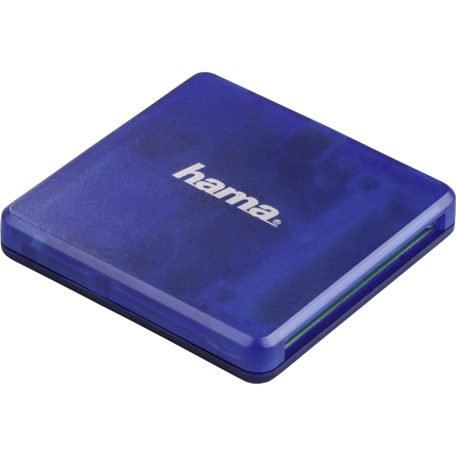 Cititor de carduri USB 2.0 SD mSD Albastru