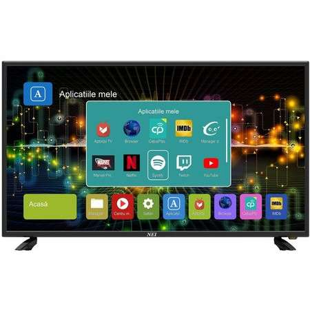 Televizor LED Nei 50NE6515 Smart TV 127cm 4K Ultra HD Negru