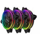 Halo RGB PWM Three Fan Pack