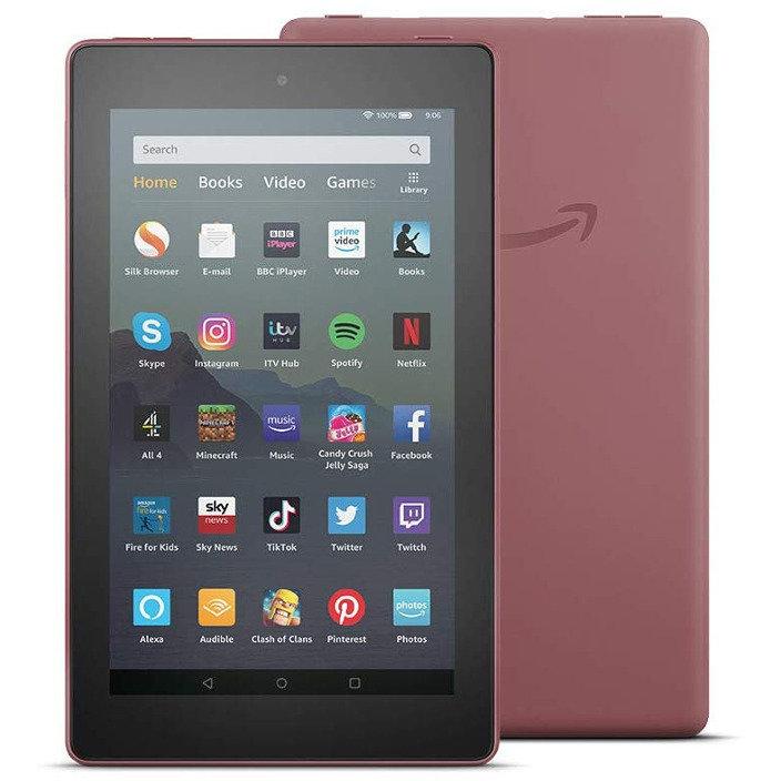 eBook reader All-new Fire 7 2019 7 inch 16GB WiFi built-in Alexa Plum thumbnail
