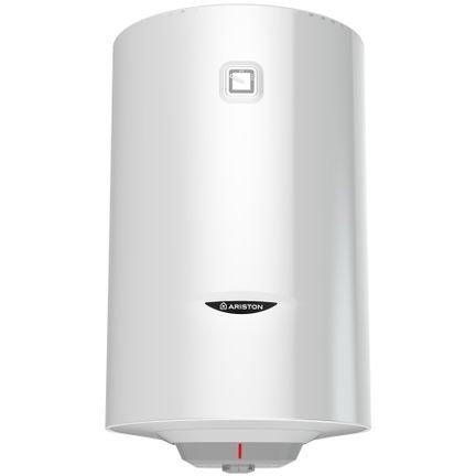 Boiler termoelectric PRO1 R 100 VTD 1,8K  Ariston 100L 1800W Serpentina pe partea dreapta Alb