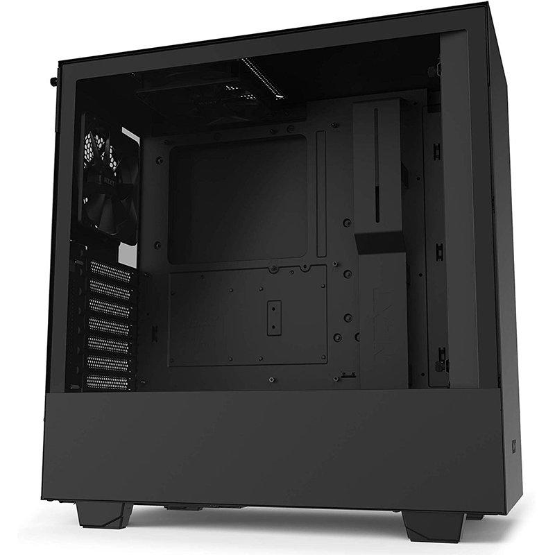 Carcasa H510 ATX Middle Tower 2 Ventilatoare Incluse Matte Black