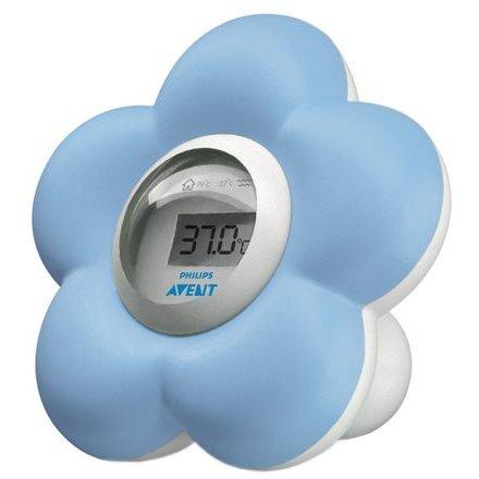 Termometru digital SCH550/20 pentru baie si camera Albastru thumbnail