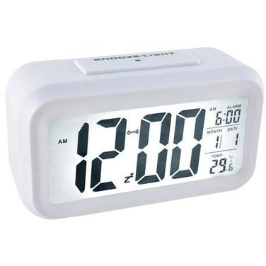 Ceas digital IS00006484 LCD Senzor pentru iluminare Alarma Termometru Calendar thumbnail