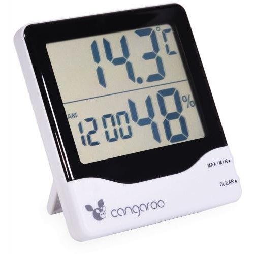 Termometru si Higrometru Digital 3 in 1 Ceas digital cu functie de alarma thumbnail