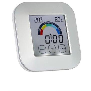 Ceas digital KH-0361 Iluminat LED cu higrometru Termometru Touchsreen LCD 2.7 inch thumbnail