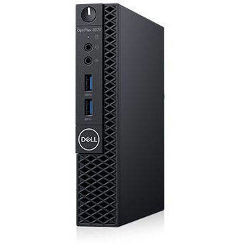 Sistem desktop Optiplex 3070 MFF Intel Core i5-9500T 8GB DDR4 256GB SSD Windows 10 Home 3Yr Black thumbnail