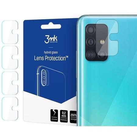 Folie protectie camera foto 3MK Flexible Glass Samsung Galaxy A71 4-Pack