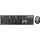 Kit tastatura si mouse Trust Raza Wireless Black