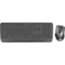 Kit tastatura si mouse Trust Tecla2 Wireless Black