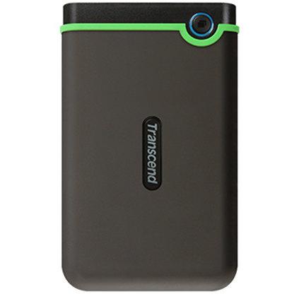 Hard disk extern StoreJet M3 2TB USB Type C 2.5 inch Black Green