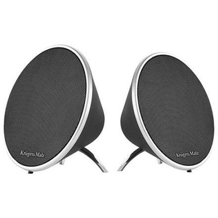 Sistem boxe portabile KM0520 SOUL Stereo Bluetooth Negru
