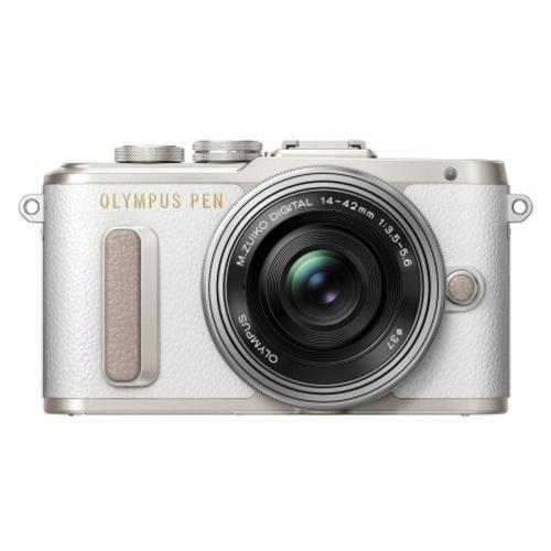 Aparat foto Mirrorless E-PL8 16.1 MP White + Obiectiv M.Zuiko Digital ED 14-42mm f/3.5-5.6 II R thumbnail