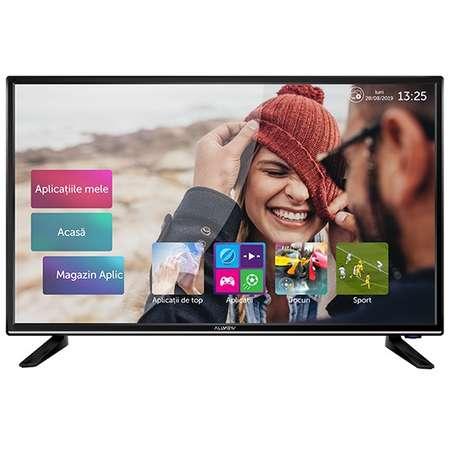 Televizor LED Allview 40ATS5100-U Smart TV 4K UHD 40inch Media Player integrat CI+ Negru