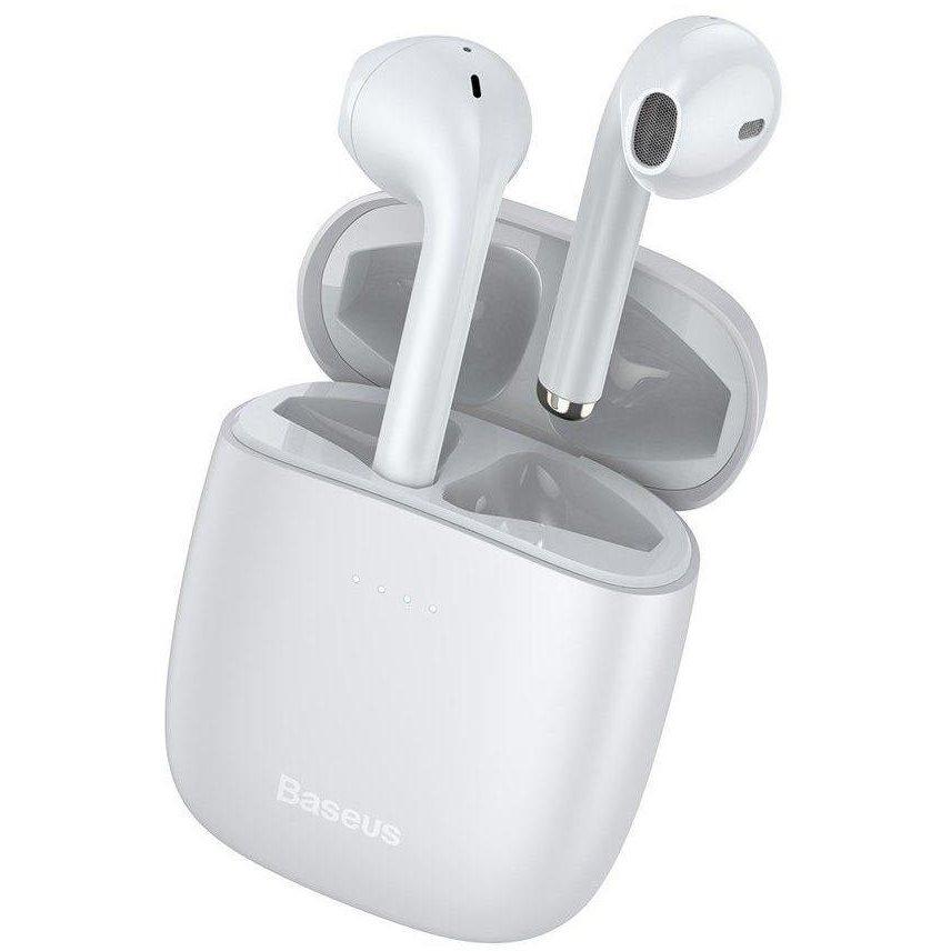 Casti bluetooth wireless W04 White