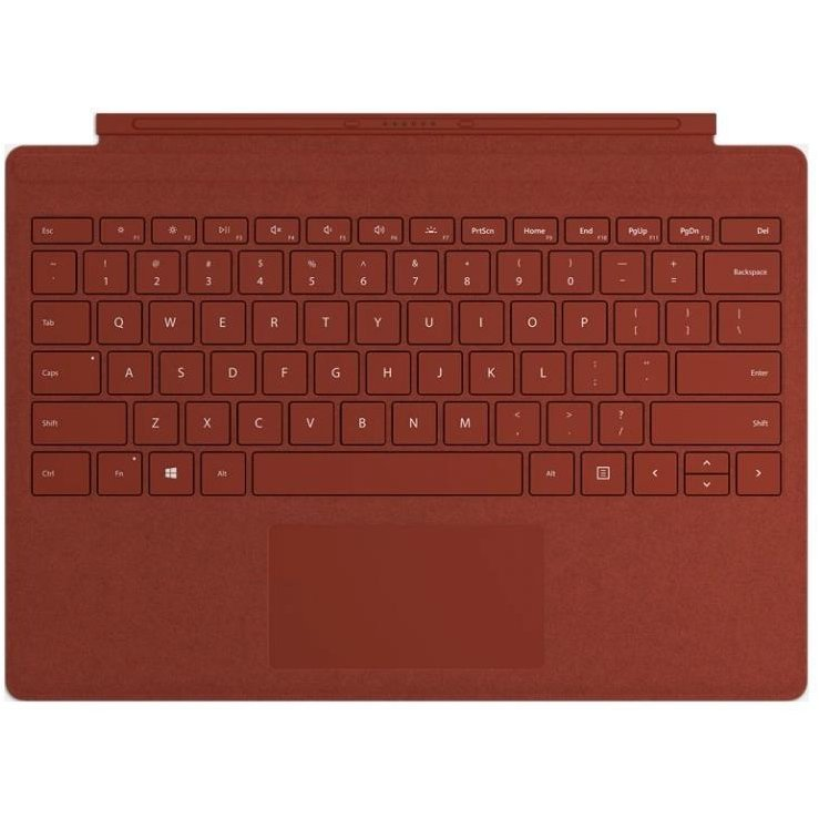 Tastatura Surface Pro Type Cover Poppy Red