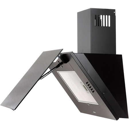 Pachet Plita incorporabila SL 4G221 Inox + Hota Decorativa Tornado Vertikal 750 Negru / Inox