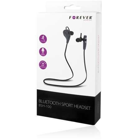 Casti Forever GSM016821 cu microfon in-ear Bluetooth 3.0 Negru