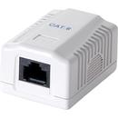 NP0071 Cat.6 UTP 1x RJ45 White