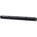 Patch Panel Logilink NP0004 19 inch CAT6 24 porturi Black