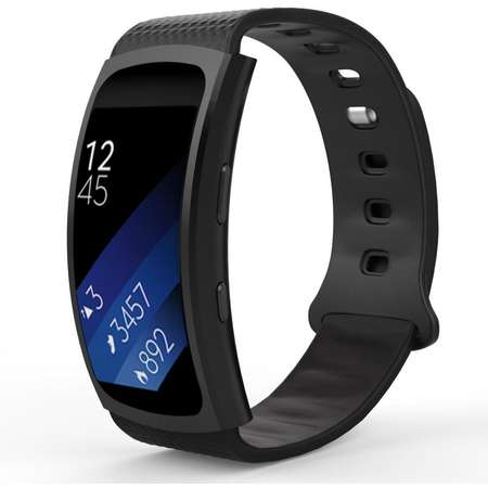 Curea silicon TECH-PROTECT Smooth Samsung Gear Fit 2/2 Pro Black