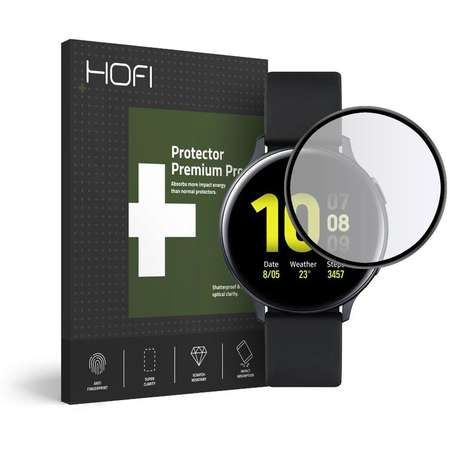 Accesoriu smartwatch Glass Pro Folie protectie HOFI Hybrid Glass 0.3mm 7H Samsung Galaxy Watch Active 2 (44mm) Black