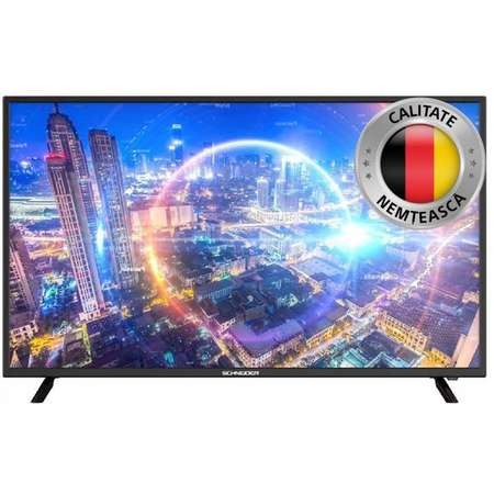 Televizor Schneider 40sc650K Smart TV LED 101cm Ultra HD Negru