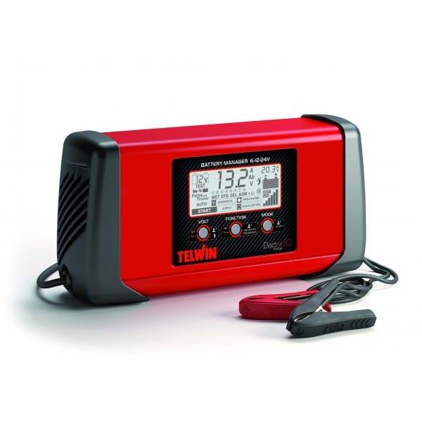 Redresor Auto Doctor Charge 50 Tehnologie Pulse Tronic Bazat pe tehnologie SMPS Rosu