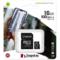Card de memorie Kingston Canvas Select Plus 100R A1 16GB SDXC Clasa 10 + Adaptor SD