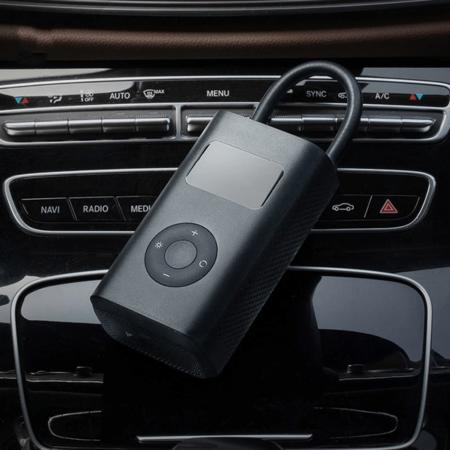 Compresor Aer Xiaomi Mi Portable Electric 2000 mAh microUSB Portabil Display Digital Black