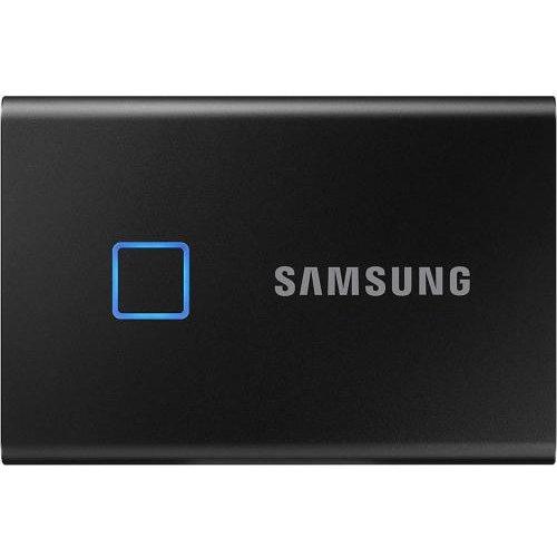 SSD Extern T7 Touch 1TB USB-C 3.1 Metallic Black