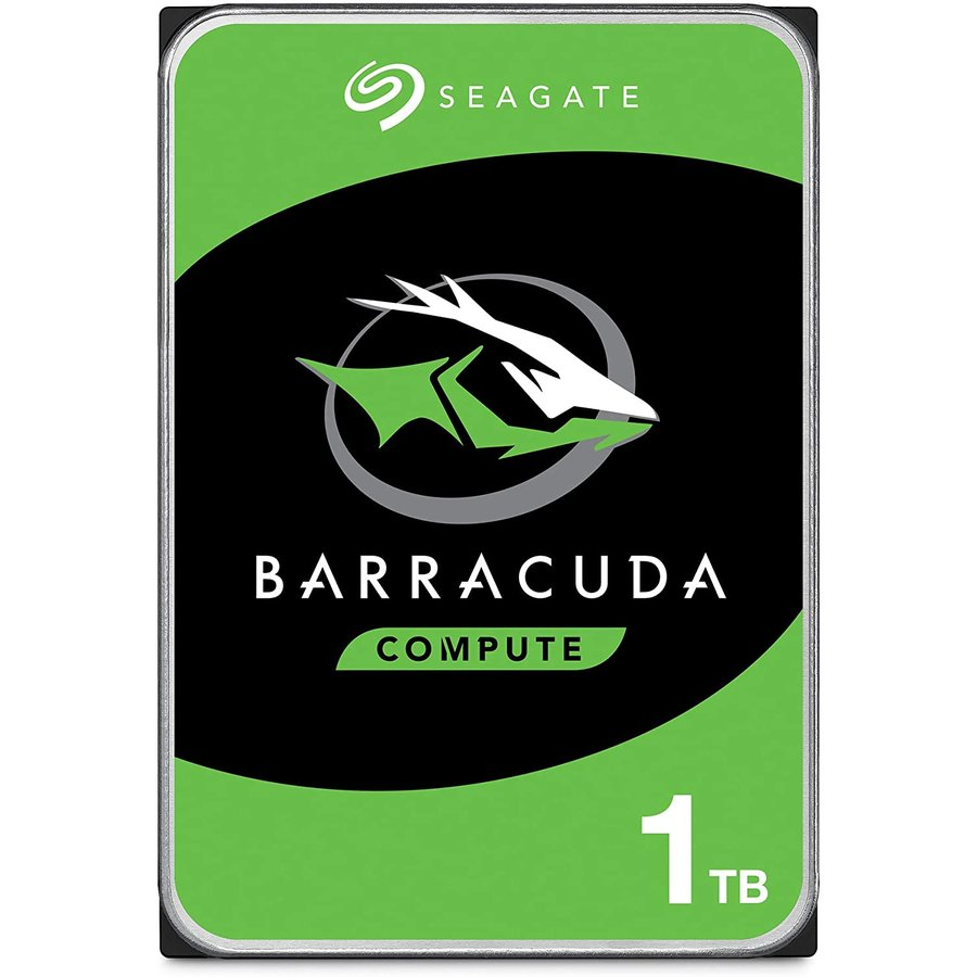 Hard Disk Desktop Barracuda 1tb 7200 Rpm Sata 64mb 3.5 Inch Blk Single Pack