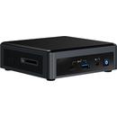 NUC BXNUC10I7FNKPA2 Intel Core i7-10710U 8GB DDR4 256GB SSD WiFi BT HDMI Windows 10 Home Black