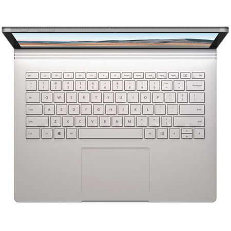 Laptop Microsoft Surface Book 3 15 inch Touch Intel Core i7-1065G7 32GB DDR4 512GB SSD nVidia GeForce GTX 1660 Ti 6GB Windows 10 Home Silver