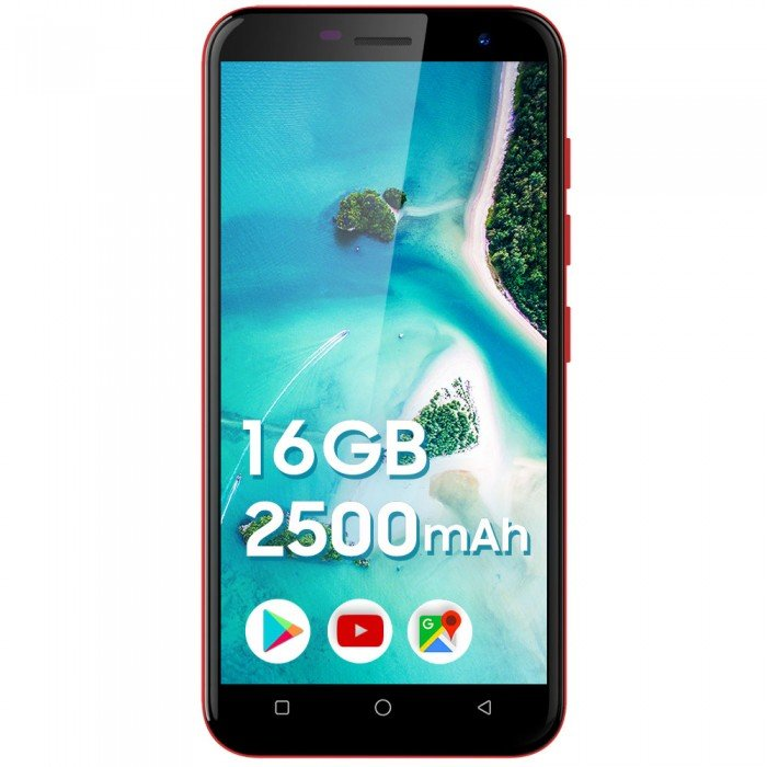 Telefon mobil Like 7 16GB 1GB RAM Android 9 Red