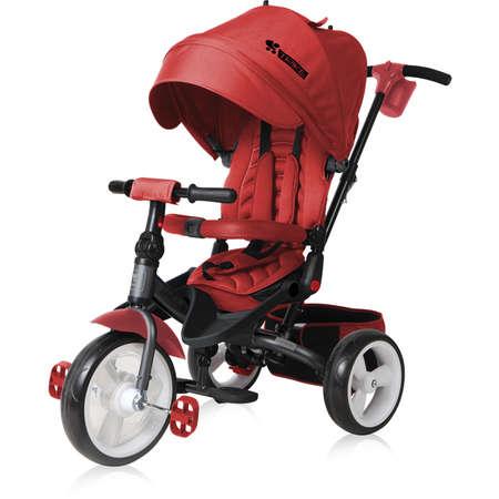 Tricicleta Lorelli 10050290004 JAGUAR EVA Wheels impingator reglabil Red