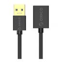 Cablu de date Orico U3-MAA01 USB Male - USB Female 1.5m Black