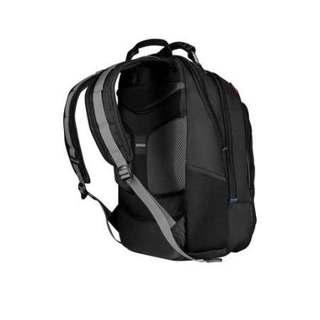 Rucsac Wenger 600637 Carbon Apple pentru laptop de 17inch Neagra