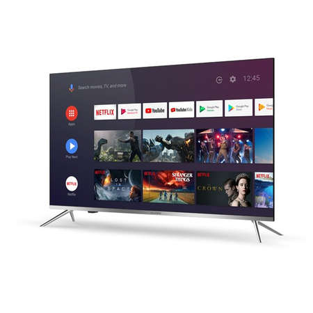 Televizor Allview LED Smart TV 55ePlay6100-U 139cm Ultra HD 4K Silver