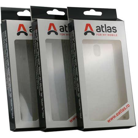 Husa Protectie Spate Atlas Invisible pentru Nokia 4.2 Transparent
