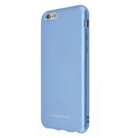 Husa Protectie Spate Hana Molan Pearl pentru Samsung A71 Albastru