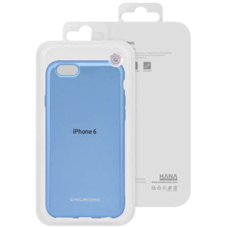 Husa Protectie Spate Hana Molan Pearl pentru Samsung S20 Albastru