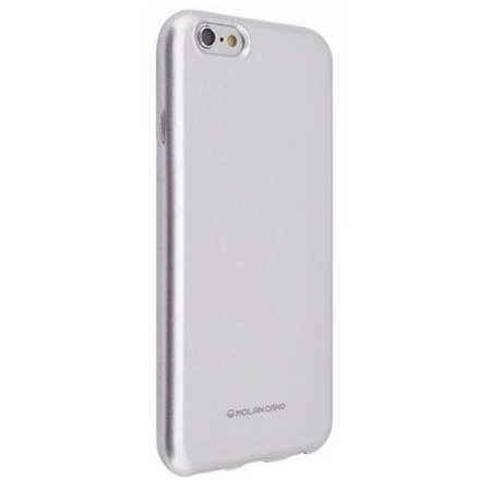 Husa Protectie Spate Hana Molan Pearl pentru Huawei P40 Lite Argintiu
