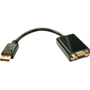 Adaptor Displayport - VGA 0.2m Lindy