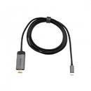 Adaptor Verbatim 49144 USB-C - HDMI 1.5m Negru