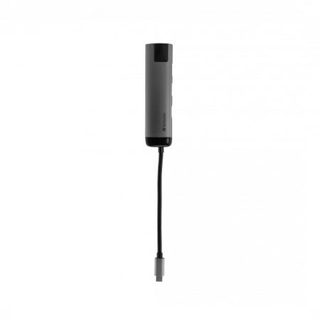 Hub USB Verbatim 49141 USB-C - 2 x USB 3.2 gen 1 1x HDMI 1x RJ45 Gri