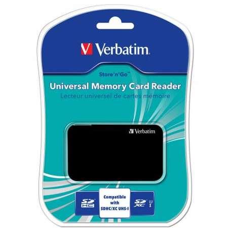 Card Reader Verbatim 47264 USB 2.0 Negru